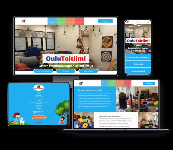 Toimintaterapia OuluToitiimin verkkosivusto