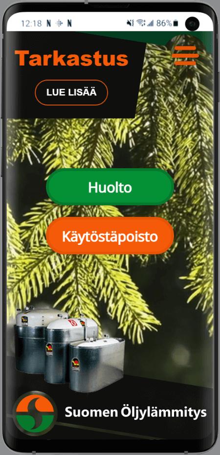Suomen öljylämmityksen kotisivut